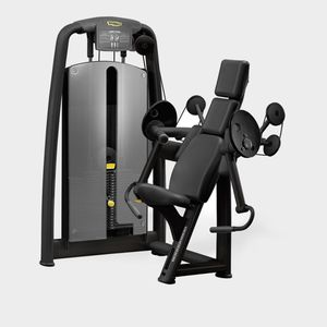 arm curl weight training machine