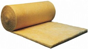 thermal-acoustic insulation / glass wool / for facades / for attics