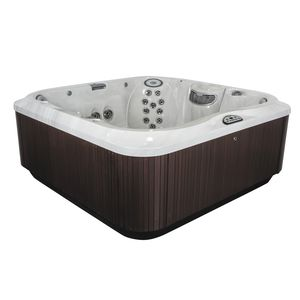 above-ground hot tub / square / 6-person / 7-person