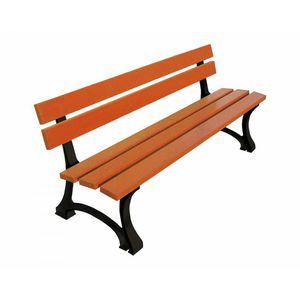 contemporary garden bench