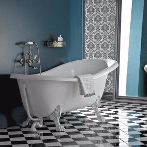 bathtub with legs / oval / acrylic / cast iron