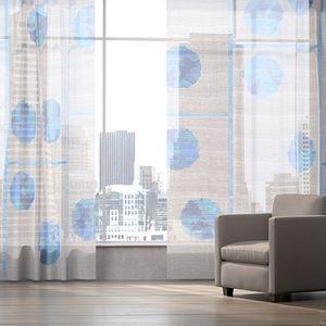 patterned sheer curtain fabric / Trevira CS® / polyester / PES