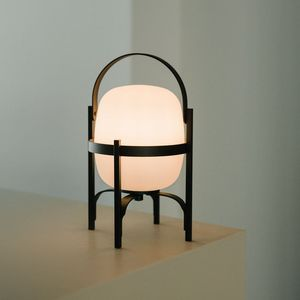 portable lamp / contemporary / plastic / rechargeable
