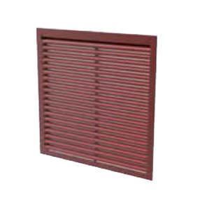 fixed security grille