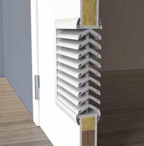 polystyrene ventilation grill