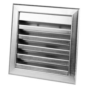 steel ventilation grill / square