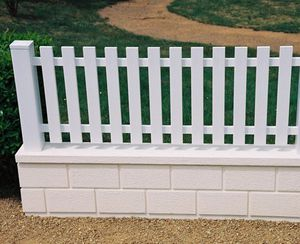 fence with bars