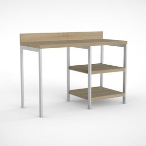 wooden desk / metal / contemporary / for hotels