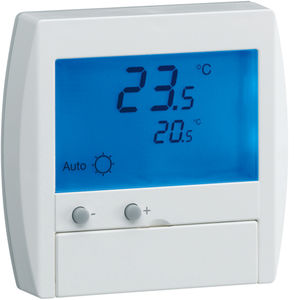 digital thermostat / recessed wall / for underfloor heating