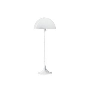 floor-standing lamp / contemporary / steel / acrylic