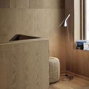 floor-standing lamp / contemporary / steel / handmade