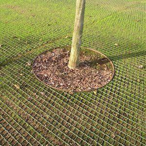 plastic grass square