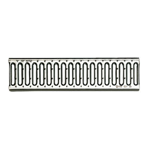 stainless steel grating for drain channel / galvanized steel / cast iron / for swimming pools