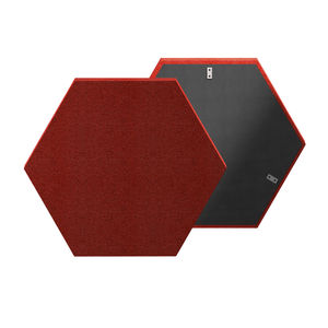 ceiling sound-absorbing panel / wall-mounted / Trevira CS® / polyester fiber