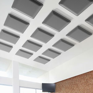 interior sound-absorbing panel / wall-mounted / for ceilings / Trevira CS®