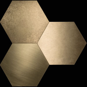 hexagonal tiles / indoor / wall / floor