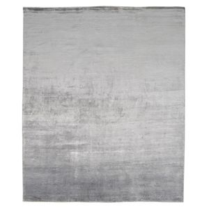 contemporary rug / plain / vegetal fiber / rectangular