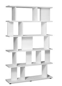 contemporary bookcase / for office / oak / solid wood
