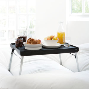 stainless steel serving tray / in plastic / aluminium / for hotel rooms