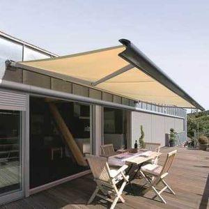 box awning / manual / motorized / patio