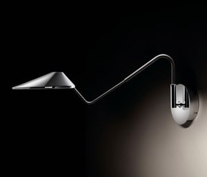 contemporary wall light / aluminum / polycarbonate / cast iron