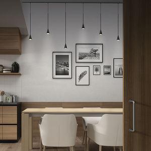 pendant lamp / contemporary / aluminum / iron