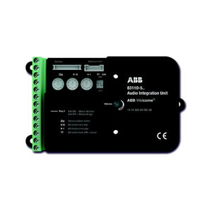 black intercom module
