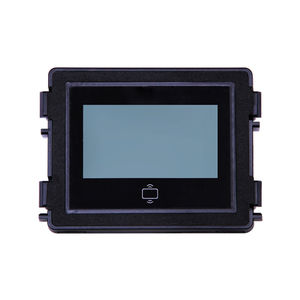 IP intercom module / black