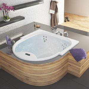 acrylic bathtub / medical / 3-seater / whirlpool