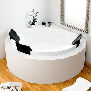 free-standing bathtub / corner / acrylic / double