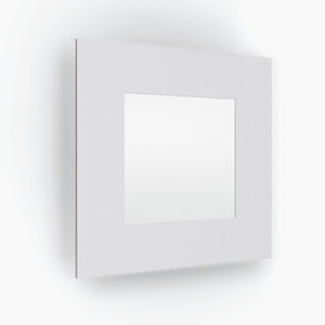 recessed wall light fixture / LED / square / rectangular