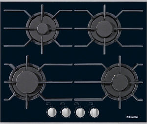 gas cooktop / with grill / cast iron / 4 burners