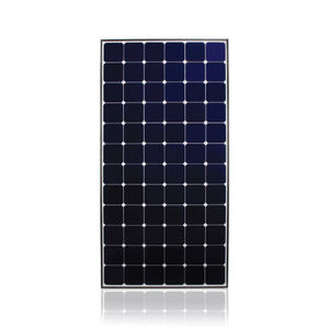 monocrystalline PV panel / with anti-reflective glass / for roofs