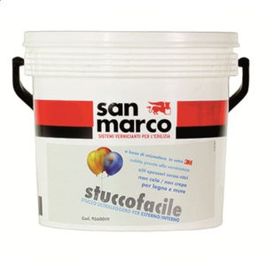 decorative coating / indoor / for walls / plaster