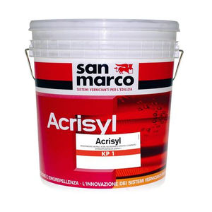 smoothing coating / for outdoor use / for walls / siloxane