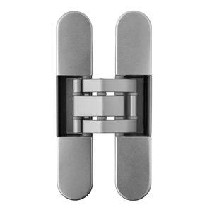 door hinge / zamak / thermoplastic / concealed