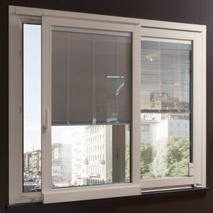 roller blinds / Venetian / pleated / wooden