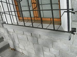 natural stone window sill