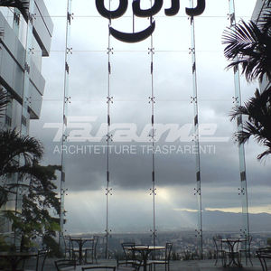 stainless steel curtain wall fastening system