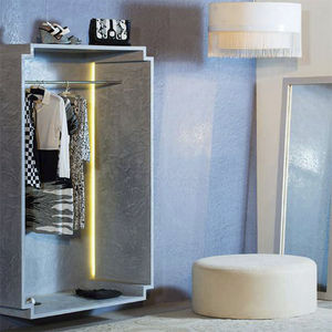 decorative coating / dehumidifying / interior / for walls