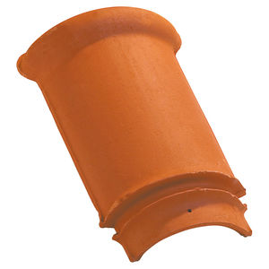 edge roof tile / clay