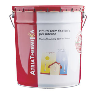 finish paint / heat-reflective / for walls / for indoor use