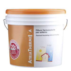 protective paint / insulating / for walls / for facade cladding