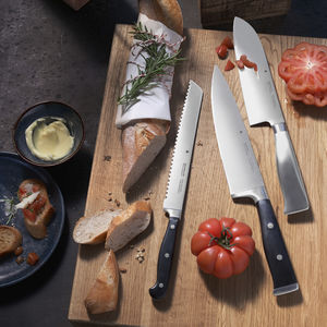 chef's knife with forged steel blade