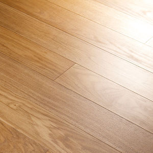 engineered parquet floor / glued / painted / commercial