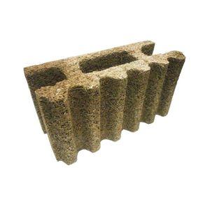 prefab noise barrier / modular / lightweight concrete / wooden