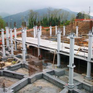 concrete prefabricated pillar