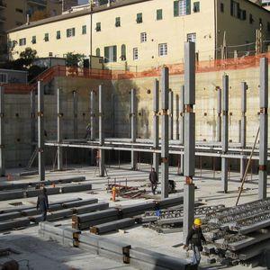 concrete prefabricated pillar