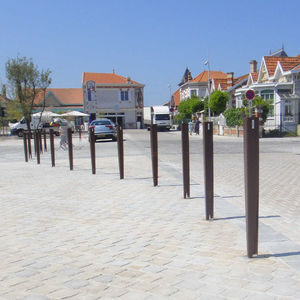 Stainless steel bollard - All architecture and design