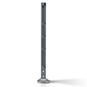 security bollard / cast iron / high